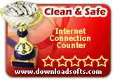 "Our software experts have done some tests over your product named ""Internet Connection Counter 7.0-Eng"". They were very impressed by the quality and cleanliness of the program."